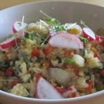 gemeinsam vital - quinoa salat