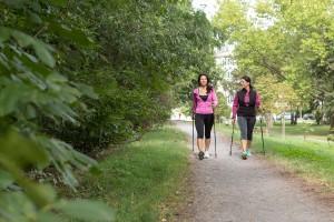 gemeinsamvital - nordic walking lernen