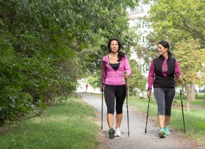 gemeinsamvital - nordic walking lernen vergr