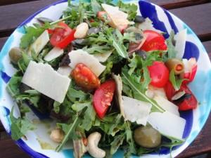 gemeinsamvital rucolasalat mit parmesan